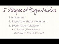 Yoga Nidra: Introduction to the Complete Practice | Yoga International