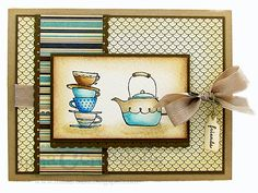 Vintage morning cup by ilinacrouse - Cards and Paper Crafts at Splitcoaststampers