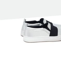 Image 4 of FLAT SNEAKERS WITH ELASTICS from Zara
