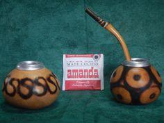 2 Gourd 1 Bombilla Straw 1 Yerba Mate Tea Bag Infusion Argentino Gaucho Uruguay Brazil Paraguay Chile Tango by robertolascano on Etsy