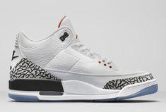 1a76e57e734 The Air Jordan 3 'White Cement' NRG Celebrates MJ's Jump From the Free Throw