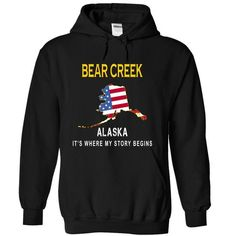BEAR CREEK It's Where My Story Begins T Shirts, Hoodie Sweatshirts