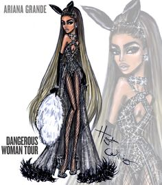 Ariana Grande 'Dangerous Woman Tour' by Hayden Williams: Look 5