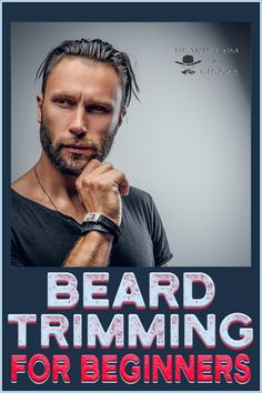 Step by step guide for trimming beard if you are a beginner. Here you can find out all about trimming and shaping a long and a short beard at home.	 Read more about beard trimming at beardtrimandgroom.com. #beardtrim #beardshape #beardgrooming