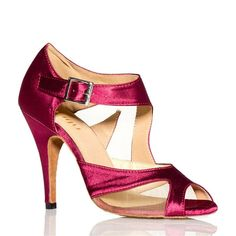 Satin Soft-soled Cutout Ankle Straps Open Toe Dance Shoes | Amazon.com