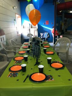 Lego Monster Fighter Birthday Party