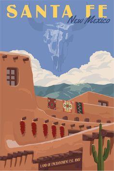 Just Looking Gallery- Steve Thomas Santa Fe Adobe #santafe #PANDORAsummercontest