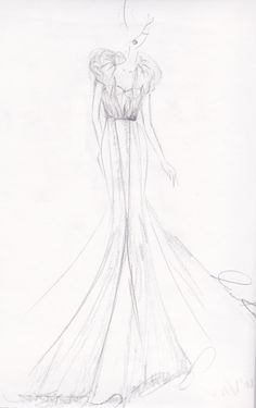 Elle by Michelle Rahn -- totally LOVE fashion sketches