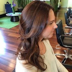 Healthy hair is happy hair and happy clients are the prettiest clients. We make both happen at Robert James color—look and see the proof! #RobertJamesColor