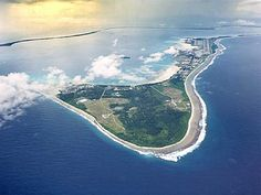 Diego Garcia, British Indian Territory, Chagos Archipelago. Another tiny...and remote island!