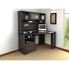 Desks - Small corner desk with storage ...