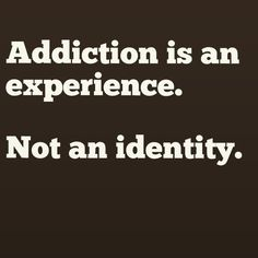 """""""Addiction is an experience, not an identity"""" – Hip Sobriety When Holly Glenn Whitaker of Hip Sobriety posted this message on her social media"""