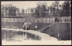 Gladstone Park Baths - Gladstone Park - Dollis Hill - date unknown but it opened in 1903