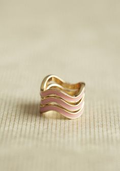#Ruche                    #ring                     #current #stacking #ring #blush #ShopRuche.com      in the current stacking ring in blush at ShopRuche.com                                                  http://www.seapai.com/product.aspx?PID=494109
