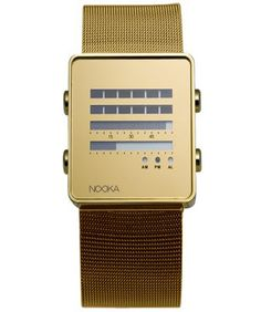 Nooka. Gold is back whether you like it or not.