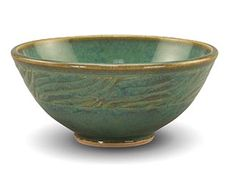 Bowl created by Tracy Gamble glazed with PC-25 Textured Turquoise.