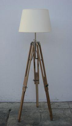MODERN TRIPOD LIGHT STANDARD FLOOR LAMP WITHOUT SHADE | eBay