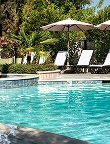 Roman Spa Hot Springs Calistoga Pool View Calistoga Hotels Hot