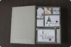 Box mit Minialbum und Schnickschnack Stampin'Up!
