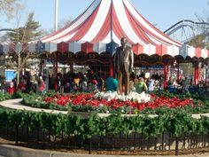 Hershey Park - Statue of Milton Hershey - Maker of Chocolates!!