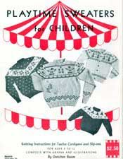 Playtime Sweaters for Children, Nomis Volume 21 | Knitting Patterns