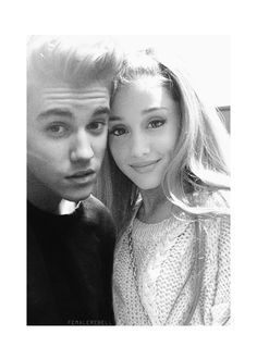 Justin bieber and ariana grande soo cute cant wait for my Bbes concert❤️❤️