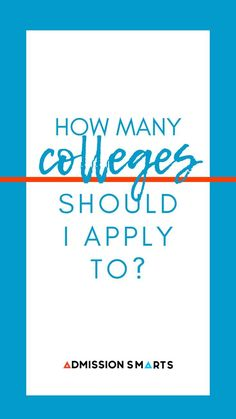 How many colleges should I apply to? How to build your college list and apply to the right Universities. Apply For College, College List, College Years, Freshman Year, All Colleges, College Majors, Financial Aid For College, Dream School, Core Curriculum