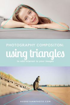 Photography composition tutorial - how to use triangles to create pleasing compositions in your photographs. Click through to see more examples of this composition tool in action!