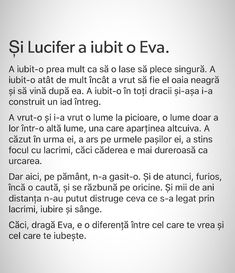 Si lucifer a iubit o eva Cute Relationship Quotes, Cute Relationships, Cute Texts, Sad Stories, Instagram Quotes, Book Of Life, True Words, Love Quotes, Motivational Quotes