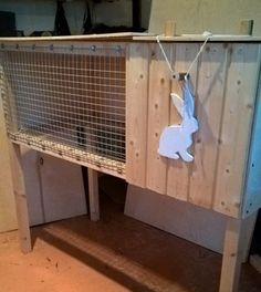 Клетка  для  крольчихи  с маточником  .