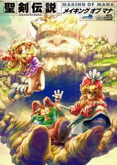 Pretty badass game, yo.  Legend of Mana Artbook