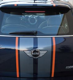 Interior/Exterior Got Striped - North American Motoring Mini Cooper 4x4, Vinyl Style, Cutting Files, Interior And Exterior, Stripes, Silhouette, Cars, American, Autos
