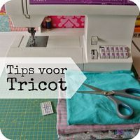 By MiekK: NaaiTechniek - Tips voor Tricot Sewing Hacks, Sewing Tutorials, Sewing Crafts, Sewing Patterns, Sewing Tips, Sewing Dress, Sewing Clothes, Techniques Couture, Sewing Techniques