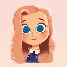 Sara, Portrait, Digital Painting, Illustration, Character Design, Female Character Design, Cute Character Design, Drawing, Girl