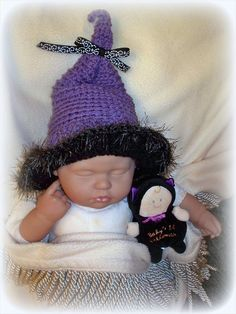 Little Witch Crochet Hat by ParesCreations on Etsy, $18.00