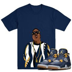 c4baa1c560b9 Biggie Smalls T-shirt Matches your Jordan  Dunk From Above