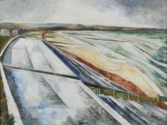 Dymchurch Kent - Your Paintings - Paul Nash paintings Abstract Landscape, Landscape Paintings, Abstract Art, Landscapes, Kent Coast, English Artists, British Artists, Art Uk, Your Paintings