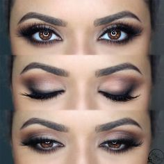 If you'd like to transform your eyes and also improve your attractiveness, having the very best eye make-up recommendations will help. You need to be sure to wear make-up that makes you start looking even more beautiful than you are already. Wedding Makeup For Brown Eyes, Wedding Makeup Tips, Makeup Looks For Brown Eyes, Eyeshadow For Brown Eyes, How To Apply Eyeshadow, Wedding Hair And Makeup, Applying Eyeshadow, Make Up Brown Eyes, Wedding Guest Makeup