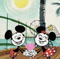 Mickey and Minnie💓