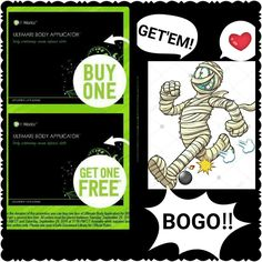 The bogo is back 😍 that's right you buy one you get one free!!! That means 2 boxes (8 wraps) for $59!! Message me for more info... #itworksbogo #gastricbypass #tightentone #flabbyskin #itdefinitlyworks  MyLadyJburg.com