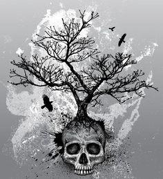 Skull Tree. Tattoo idea   Trendvee