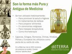 Los aceites esenciales Do Terra una forma pura y antigua de medicina.
