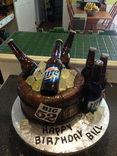 Miller Lite Beer Barrel