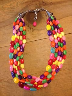 Turquoise Junkie Good To Go Candy Necklace