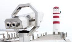 Popular on 500px : telescope_lighthouse_highkey by ewaldmario