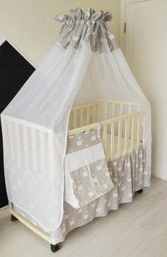 Home u0026 Living Bedding baby bedding set Crib bedding set crib canopy diaper organizer crib skirt & Bedding baby bedding set Crib bedding set crib canopy diaper ...