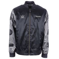 new product d2d6d a153b MENS ADIDAS ORIGINALS NEW LIMITED SKATEBOARDING VARSITIES GASIUS JACKET  BLACK XL  adidasOriginals  VarsityBaseball Adidas