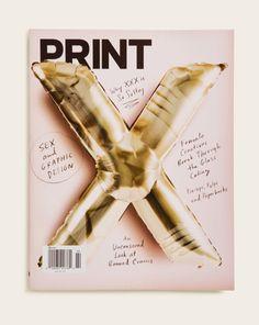 Print Magazine Cover by Rodrigo Corral.