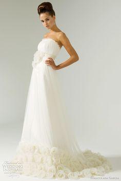 http://weddinginspirasi.com/2011/08/02/inmaculada-garcia-wedding-dresses-2012/  { Coco #wedding dress - inmaculada garcia 2012 bridal  collection }  #weddings #weddingdress #bridal