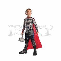 Disfraz Thor Classic Av2 para niño - Dresoop.es
